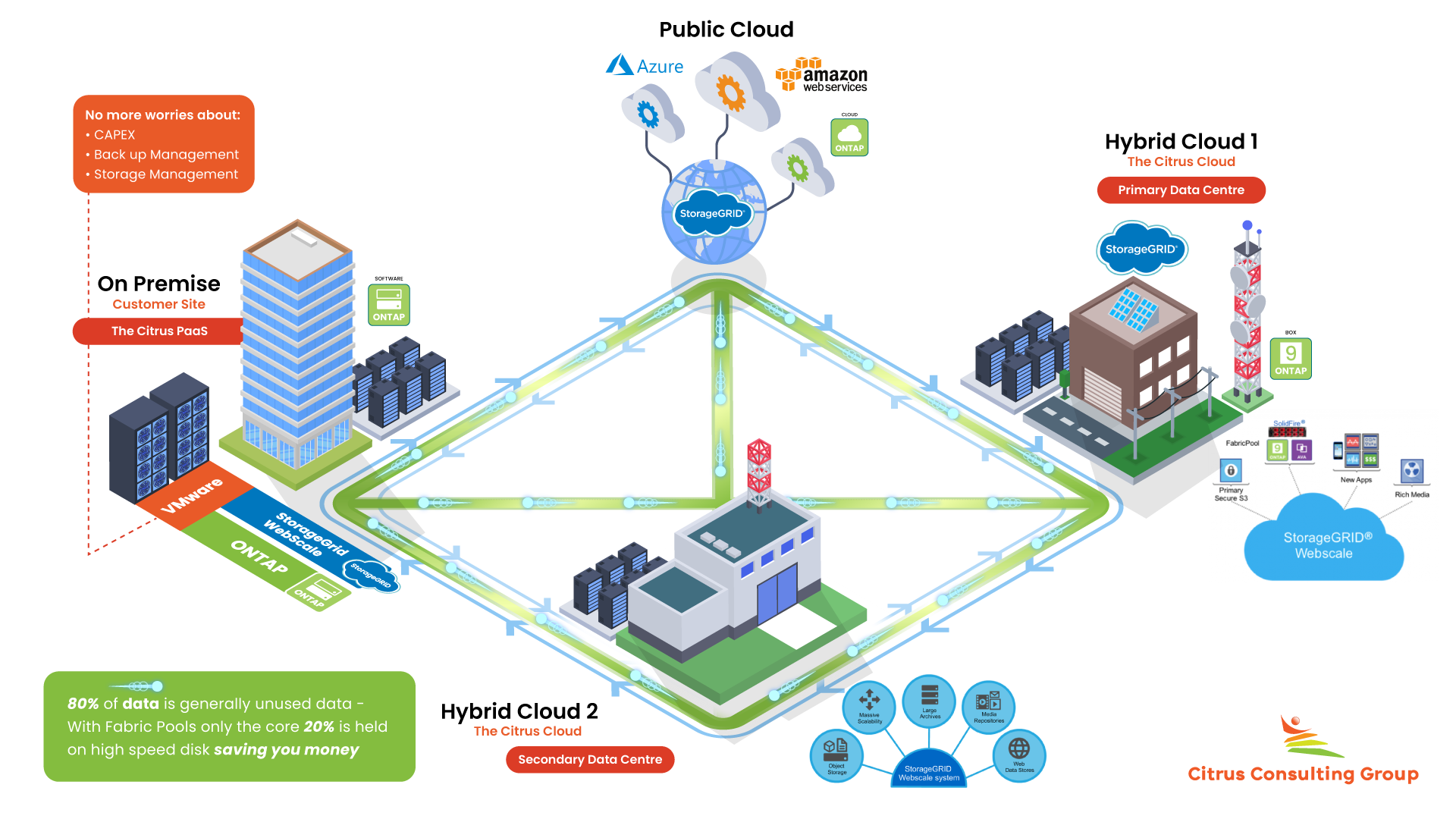 Platform as a Service - PaaS - Citrus Consulting New Zealand