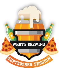 What's Brewing September Sessions Logo - Citrus Consulting Event